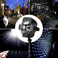Thrisdar Moving Snow Outdoor Garden Laser Projector Lamps Outdoor Snowfall Laser Light Christmas Garden Landscape Spotlight