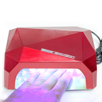 CLZVUZ 36W UV Lamp Nail Dryer LED UV Lamp for Nails Gel Dryer Nail Lamp Diamond Shape Curing for UV Gel Polish Nail Art Tools