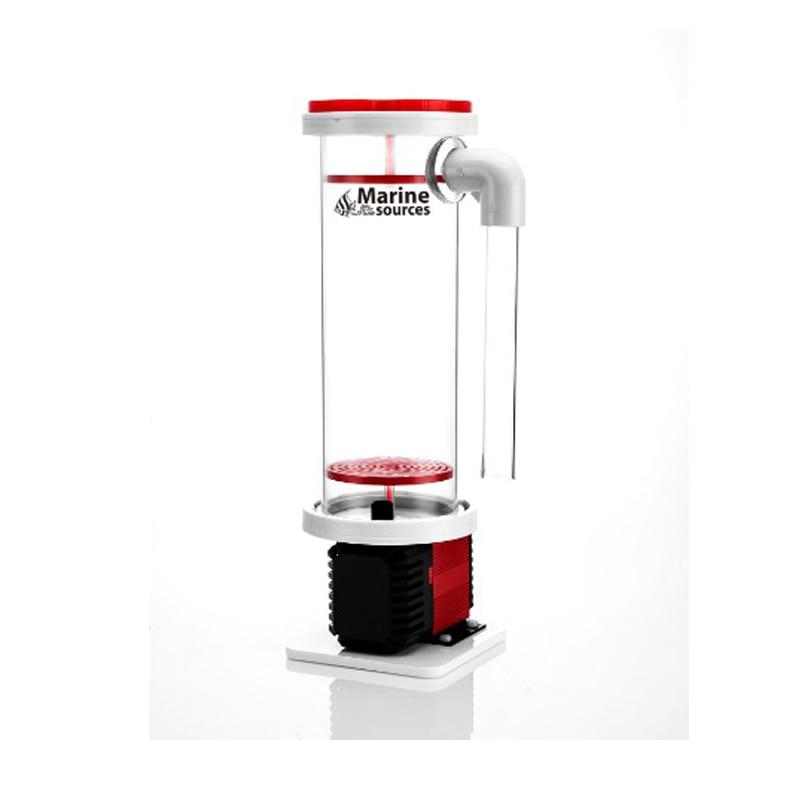 Морской источник s аквариумный скиммер морской воды морской источник биогранулы реакторов с насосом BRD1.2 камеры Общая емкость: 1.2L