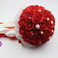 Bridal Wedding Bouquet Handmade PE Roses buque de noiva wedding flowers bridal bouquets pristian zouboutin 4 colors