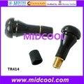 100 unids TR414 válvulas Tubeless neumático del neumático de goma tallos Auto del coche