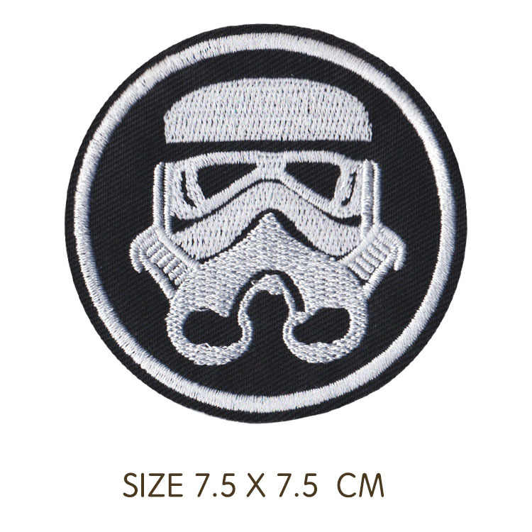 1PC สินค้าใหม่สายรุ้งแพทช์แพทช์ปักหุ่นยนต์เหล็กบน Patch Yoda เสื้อผ้าป้าย T-shits อุปกรณ์เสริม