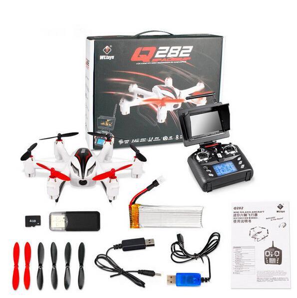 Фото RC Hexacopter WLtoys Q282-G Q282-J Q282 6-Axis Gryo 5.8G FPV 3D Roll Drone with 2MP Camera RTF 2.4GHz Drop shipping