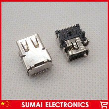 10pcs lot High Qulity 20P Mini Display Port Mini DP Female Socket HD Connector For font