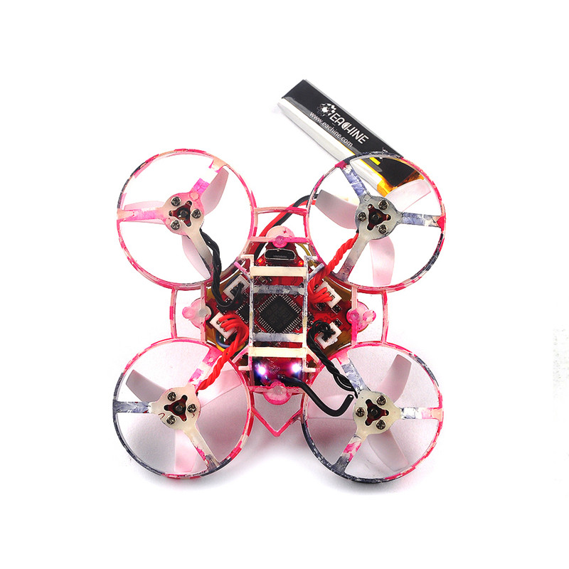 New Eachine US65 UK65 65mm Whoop FPV Racing Drone BNF Crazybee F3 Flight Controller OSD 6A Blheli_S ESC RC Quadcopter