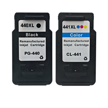 2PK PG-440 CL-441  for Canon PG440 CL441 For Canon PIXMA MX394 MX434 MX454 MX524 MG2240 MG3540 MG4240 5pcs 3bk 2cl for canon pg440 cl441 ink cartrdge pg 440 cl 441 pg 440 cl 441 for mx374 mx394 mx434 mx454 mx474 mx514 mx524 mx534