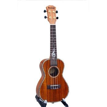 23 дюйма, для концертов, укулеле, специальная грифельная декоративная мини гитара, изготовленная из КоА, ручная работа, Китайский инструмент