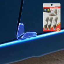 Protector Bumper Sticker Mouldings-Clips Anti-Collision-Strips Edge-Guards Car-Door Universal