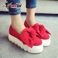 2017 Новый Женская Обувь Мода Шпильки Парусиновые Туфли Женщины Причинно-Следственной Обувь Удобная Скольжения на Обувь для Женщин Slipony AG10