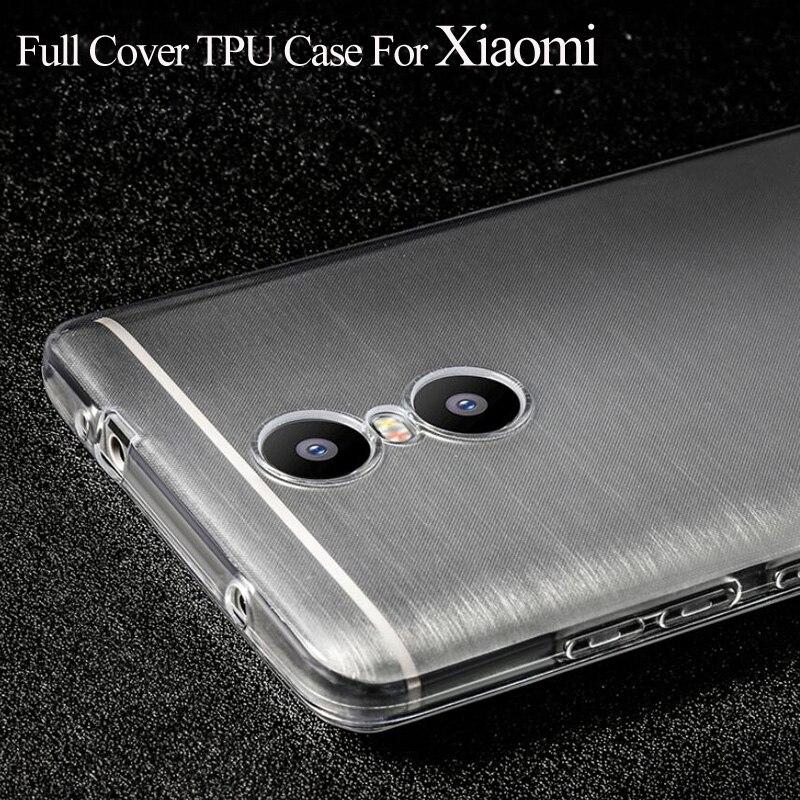 Antidetonantes Caso Transparente de TPU Para Xiaomi Redmi 4 Pro Primer 3 S 3X no
