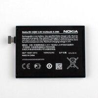 New Original Nokia BV 5QW Phone Battery For Nokia Lumia 930 BV5QW 2420mAh