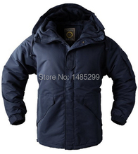 "New SouthPlay Men's ""Navy Color"" Waterproof Outerwear Hood Double ClosedJacket"