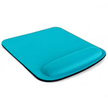 Optical/trackball comfy mice thicken square wrist mouse computer mat pad for