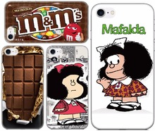 Chocolate Mafalda Fundas Soft TPU Phone Cover Case For Wiko View 2 Go Max Prime Pro XL Lenny 5 4 Sunny 3 Mini Wim Lite Coque