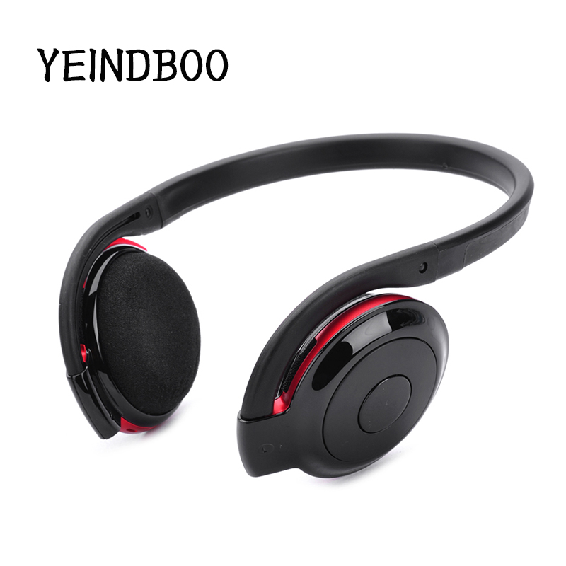 YEINDBOO Bluetooth Headset Headphones Stereo Wireless Earphone for iPhone Android Phone Computer fone de ouvido factory price binmer led luminous in ear earphone glow stereo fone de ouvido headset for iphone drop shipping