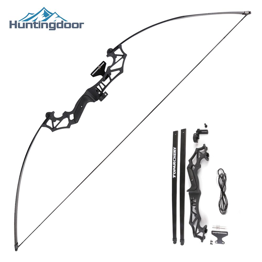 Archery Recurve Bow Hunting Take Down Bow 40lbs Bow For Outdoor Fishing Shooting Right Hand With Bow Accessories