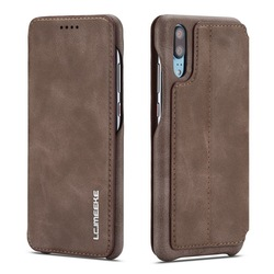 YISHANGOU Real Genuine Leather Flip Wallet Phone Case For Huawei P 20 P20Pro For Huawei P20 Lite NOVA 3E Card Holder Stand Cover