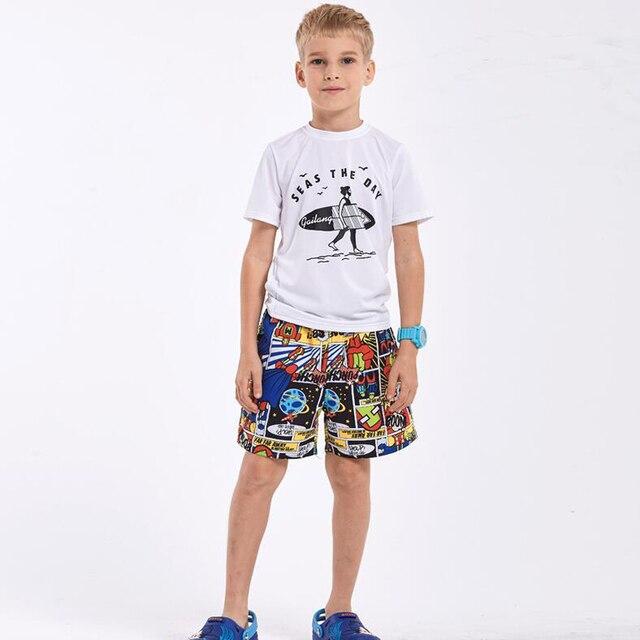 444853483b33 Brand Summer Children Beach Shorts Kids Quick Dry Water Sportswear Surfing  Short Plus Size Boys and Girls Swimwear Boxer Shorts