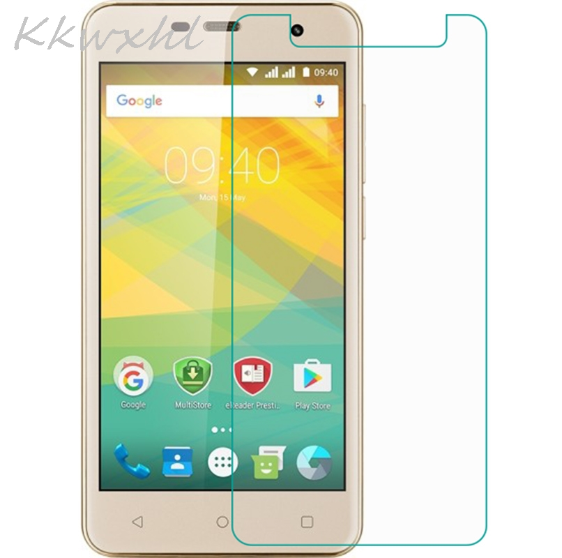 Smartphone 9H Tempered Glass for <font><b>Prestigio</b></font> Muze G3 LTE <font><b>PSP3511</b></font> DUO PSP 3511 Protective Film Screen Protector cover phone image