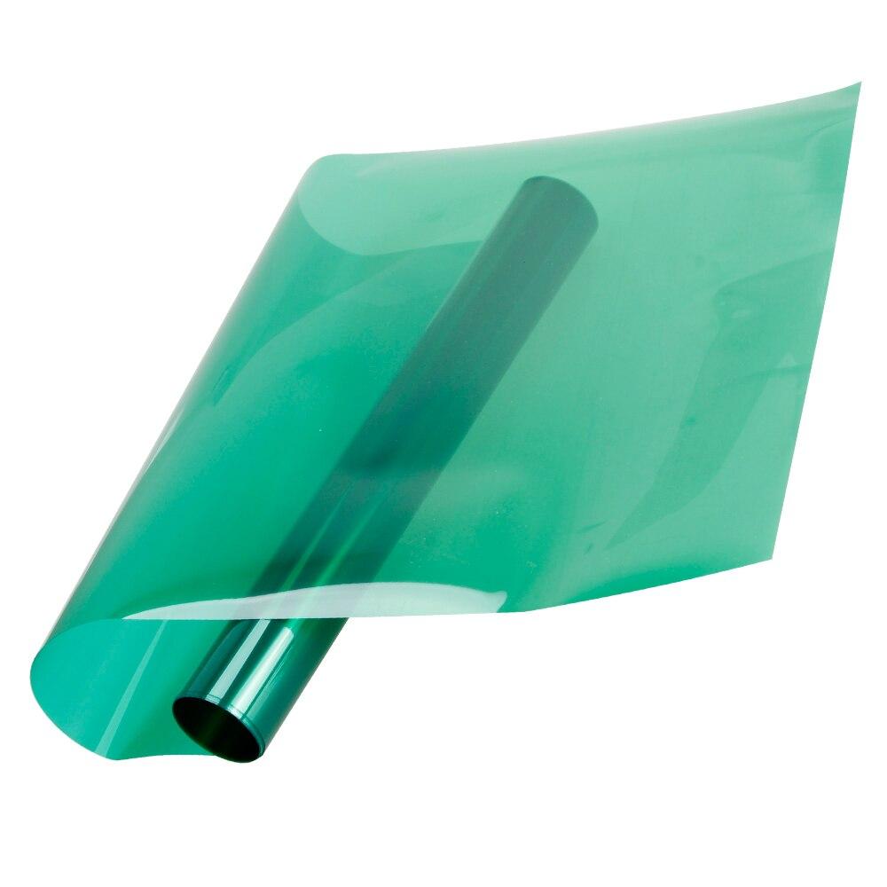 Vert Transparent Décoratif Fenêtre D'isolation thermique Non-réfléchissant Fenêtre Teinte Film