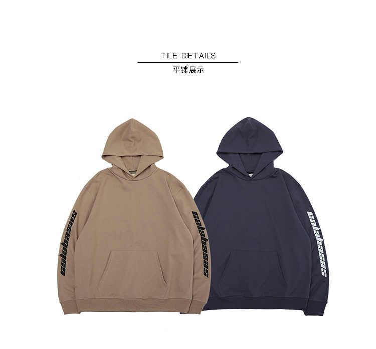 fdd290e8a88 2018 Best Quality Kanye West Calabasas Embroidery Women Men Hoodies  Sweatshirts Hiphop Streetwear Men Kanye West
