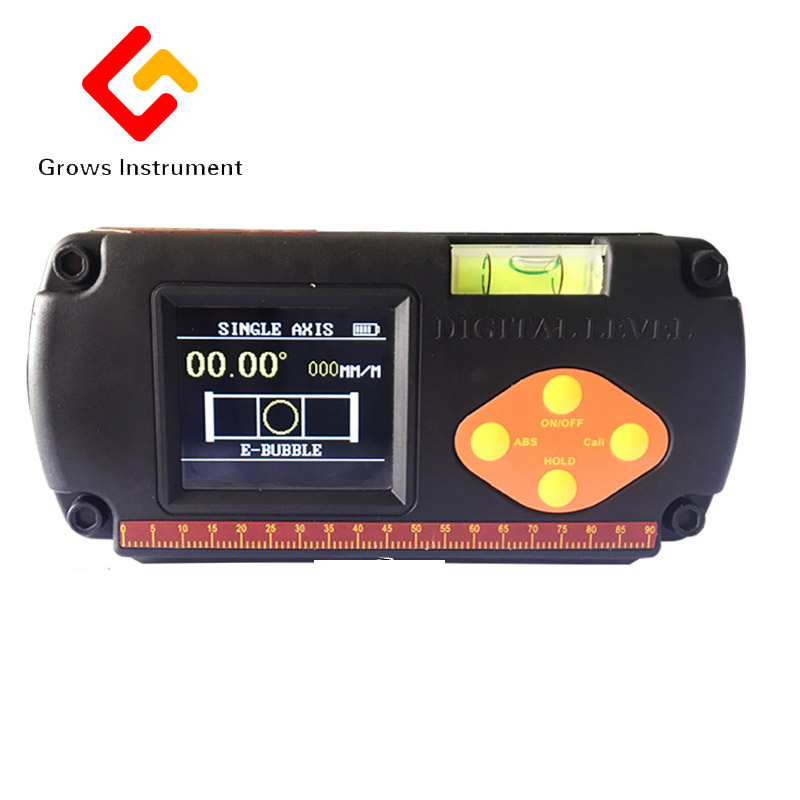High precision electronic level double shaft digital display angle meter digital display horizontal ruler inclinometer XY angle high precision digital display angle ruler pro360 waterproof angle instrument inclinometer digital display level 360 degree