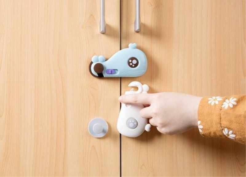 Детские замки для ящиков Детская безопасность защита для шкафа малыша защитный замок для детей холодильник Окно шкаф