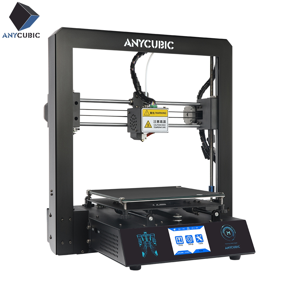 ANYCUBIC I3 Mega Cheap 3D Printer Full Metal Newest Frame 3 5 Ultrabase PLA filament 8G