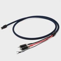 1 шт. Новый тонарм кабель 5 Pin DIN RCA Phono кабель с 5N OFC с серебряным пластина из углеродного волокна проводник