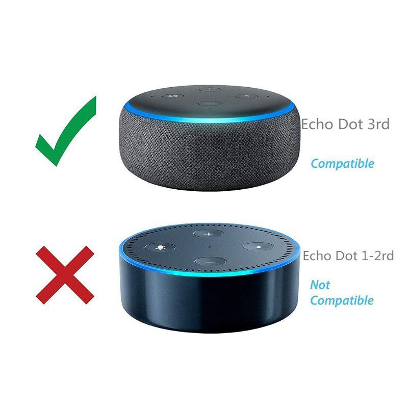 Speaker Holder Wall Mount Stand Hanger Bracket Case Screws For Amazon Echo Dot 3rd Generation Home Voice Assistants