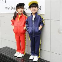 2018 New Children S Sports Suit For Boy And Girl Jogging Tracksuits Baby Boys Jackets Pants