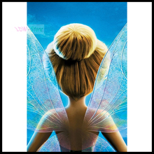 5D DIY Diamond Painting New arrival Tinker Bell fairy wing Embroidery Full Square Diamond Cross Stitch Rhinestone Mosaic NEW866