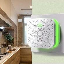 Умный дом Метан Пропан детектор утечки горючего газа датчик 360 градусов Звук и светильник сигнализация для домашней безопасности кухонного использования
