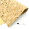 Cork fabric 65*50cm/25.5*19.6inch square Natural cork leather natural Material Kork Cor-48