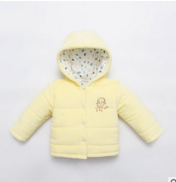 New winter jacket warm clothing baby boys cartoon clothing coat jacket coat baby blue hoodie and apparel