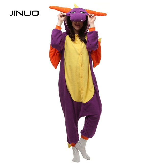 Adult barney costume dinosaur purple cannot tell