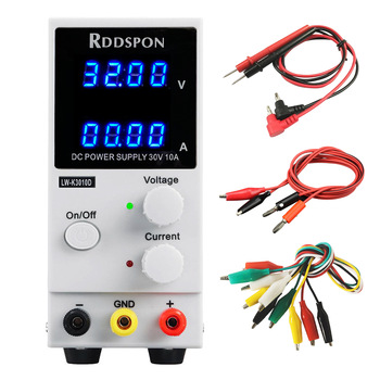 New 30V 10A DC Power Supply Adjustable 4 Digit Display Mini Laboratory Power Supply Voltage Regulator K3010D For Phone Repair adjustable laboratory power supply digital programmable switching mobile phone repair yihua 3005d 30v 5a program controlled