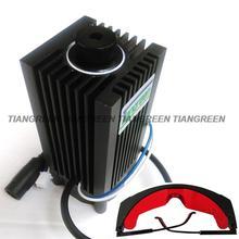 2.5วัตต์450nmที่สามารถโฟกัสสีฟ้าเลเซอร์ไดโอดModuleกับTTLภายในไดร์เวอร์สำหรับตัดมินิCNCพลังงานสูง