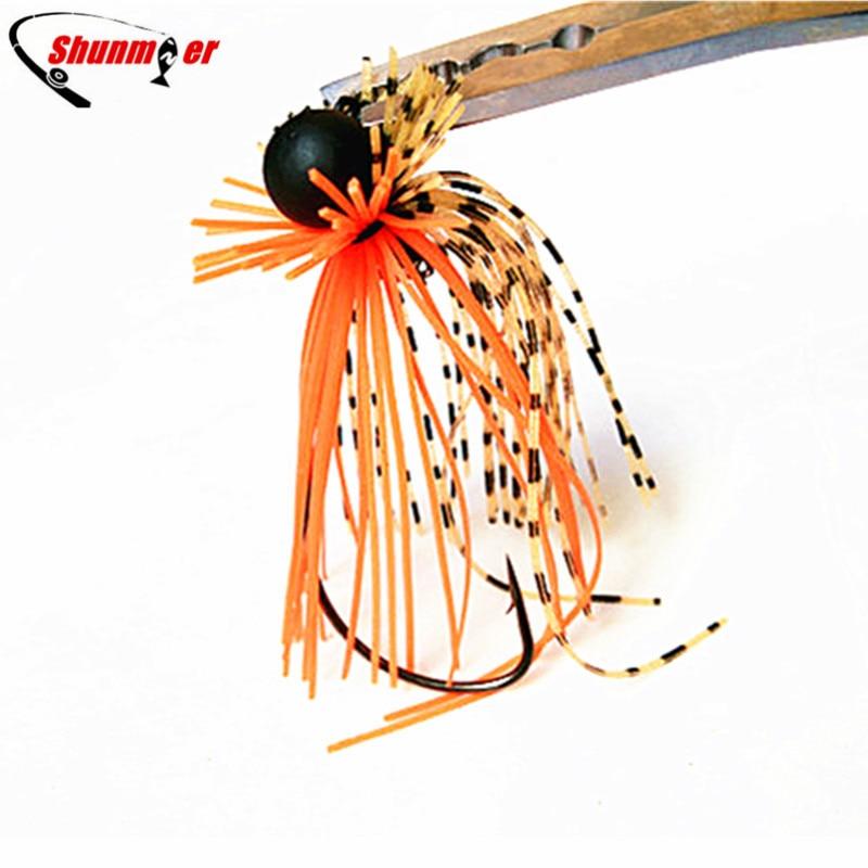 SHUNMIER 10g Jig vadu āķis Makšķerēšanas āķi Pesca lure Peche rokturi vobleri Zivju lures Isca mākslīgā crankhook spinner bait