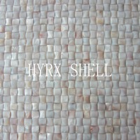 HYRX mother of pearl semiarch shape shell mosaic tiles Factory direct sale home improvement;kitchen backsplash