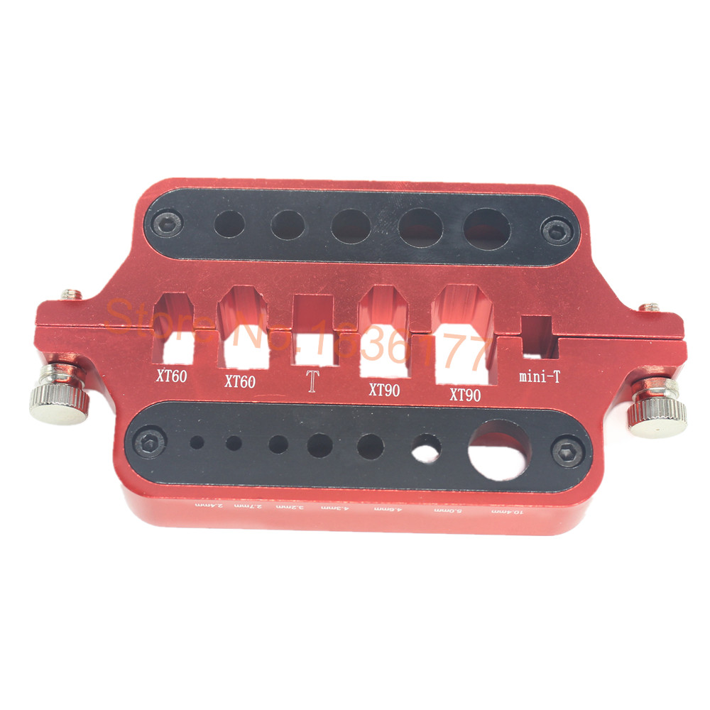 Alloy Universal Soldering Station for XT60 XT90 Mini T Deans Banana Connectors Plugs RC Hobby Tool for Battery ESC BEC 100pair xt60 bullet connectors plugs male female for lipo battery esc motor
