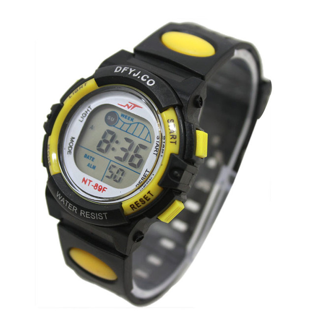 2017 Hot Sale Children Digital Watch for Girls Boys LED Digital Sports Watches S