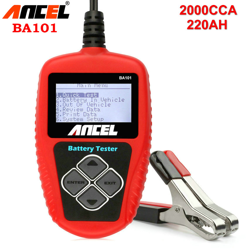 Auto Battery Tester Product : Aliexpress buy auto battery tester ancel ba car
