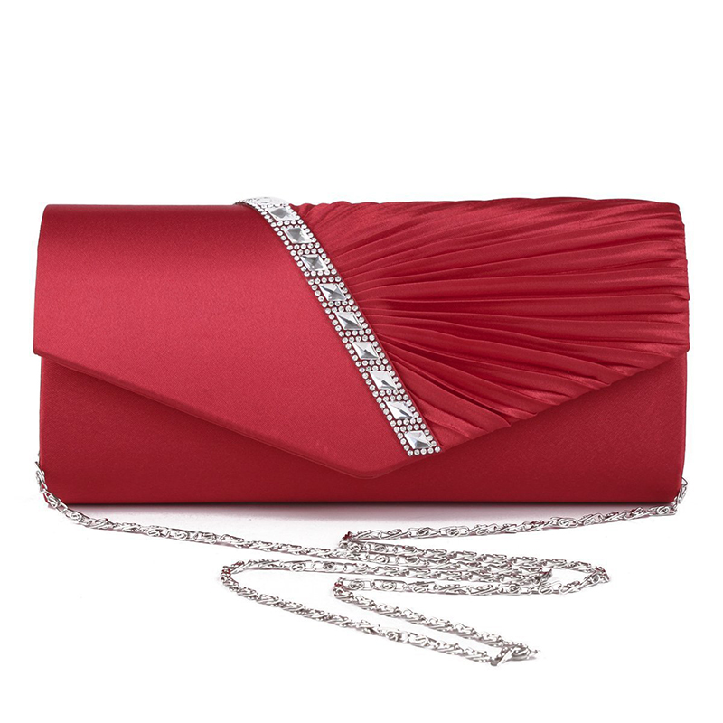 2018 neue Diamant Seide Elegante Abendtasche Dame Dreidimensionale Blume Satin Braut Hochzeit Geldbörse Partei Messenger Kupplung blosas