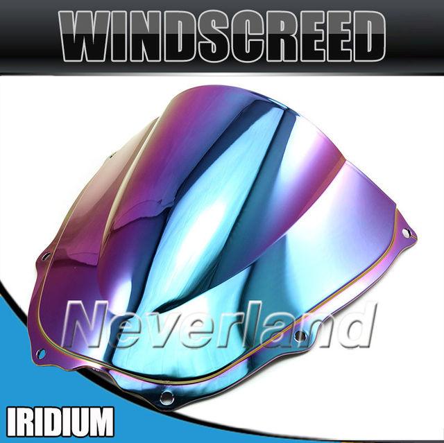 Hot sale Motorcycle Windshield WindScreen For Honda RVT1000R VTR1000 RC51 SP1/2 2000-2006 Iridium Free shipping C20
