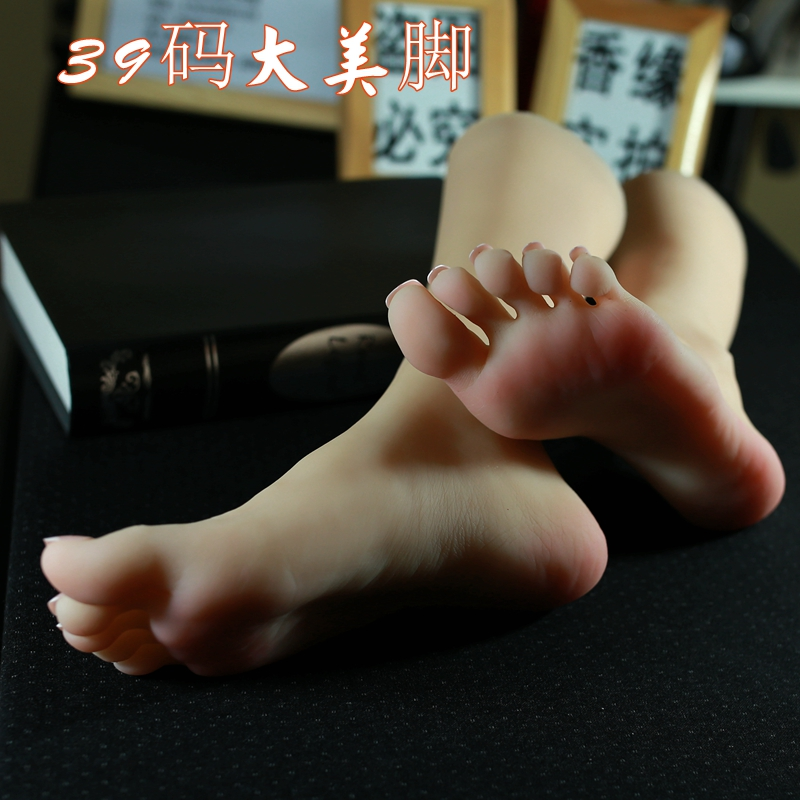 Realistic Female Foot Shoes Mannequin Display
