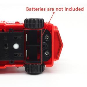 Image 3 - Entrega gratuita quente caneta mágica indutivo caminhão de carro siga qualquer linha preta desenhada pista mini brinquedo veículos de engenharia brinquedo educacional