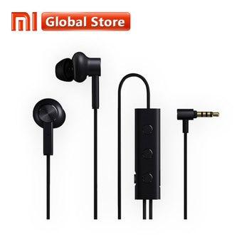 Original Xiaomi 3.5 ANC Earphones Hybrid 3 Unit 2 Grade Noise Cancel 6 Serie Al-Alloy Braid Wire Metal Clamp L Plug Hi-Res Music Чокер