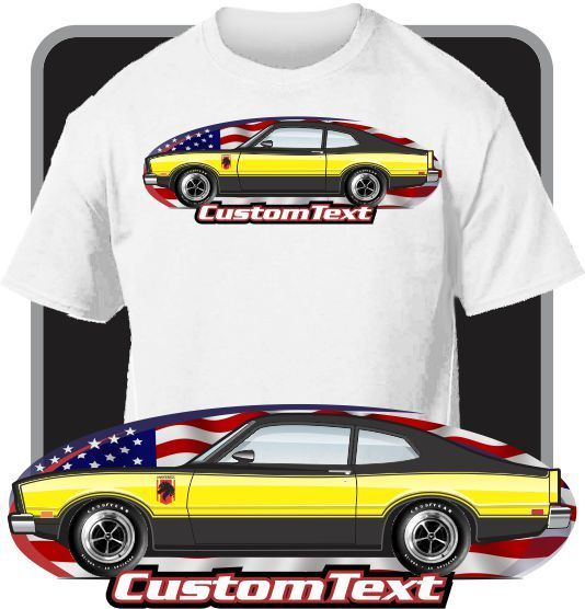 2018 Newest Men'S Funny Custom Car Art T-shirt 76 1977 Stallion Not Affiliated with American Classic Car Fans O-Neck T Shirt