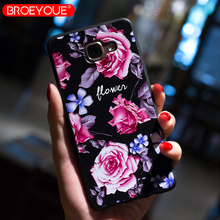 BROEYOUE Case For Samsung Galaxy A5 2017 A3 A7 2107 2016 Relief Silicone S9 Plus S8 S7 Edge Cover